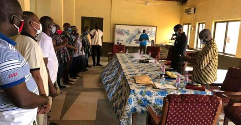 Massive rot as 9 heads roll at Keta Municipal Assembly over alleged 'chop chop'