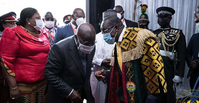 Hasten Kissi Agyebeng's vetting, approval – Akufo-Addo to Parliament