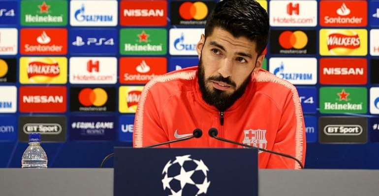 Barcelona Striker Suarez Won't Celebrate Against Liverpool At Anfield