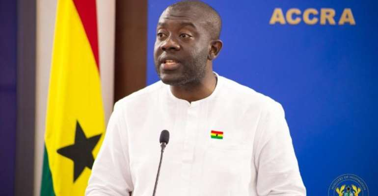 Information minister Kojo Oppong Nkrumah issued a government statement criticising the JoyNews documentary.