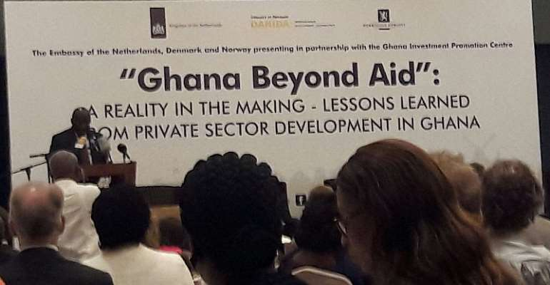 Ghana will never be beyond AID