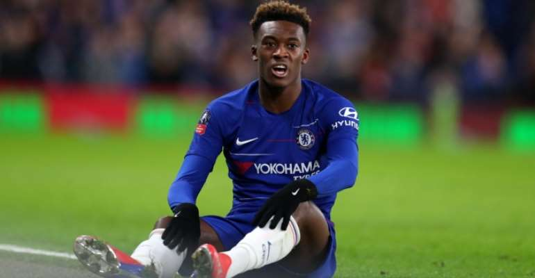 'Evil' Racist Abuse Of Players Must Stop – Chelsea's Hudson-Odoi