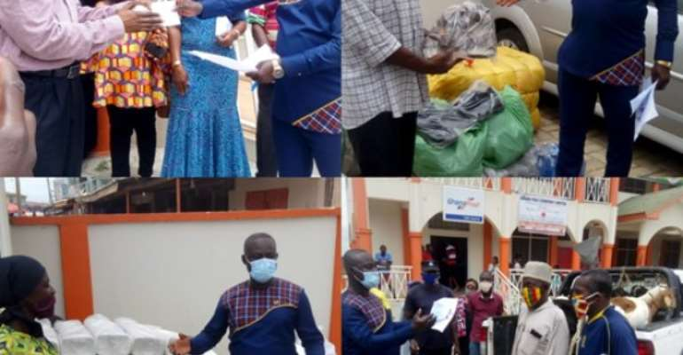 16 Disabilities Receive Bags Of Charcoal, Salt, Footwear And Sheep From Old Tafo Assembly