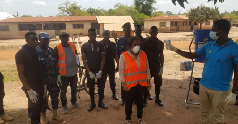 Adhere To COVID-19 Preventive Measures—Tain DCE Urges General Public