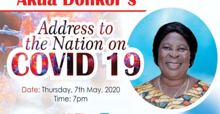 Covid-19: Akua Donkor To Address The Nation On Her 'Boyfriend's' TV