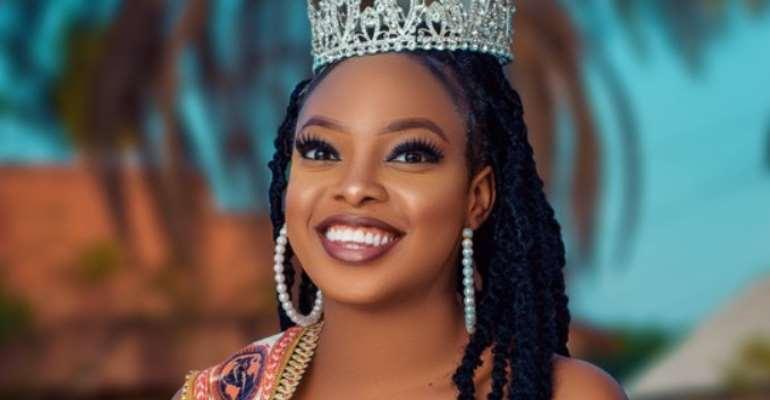 Miss Globe Queen international 2020 Christiana Olusegun releases new stunning photos