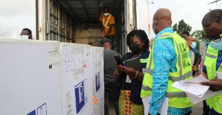 Second batch of 350,000 AstraZeneca vaccines land in Ghana