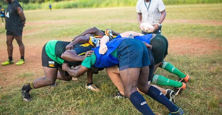 Ghana Eagles Train Ahead Of Clash With Ivory Coast On Saturday