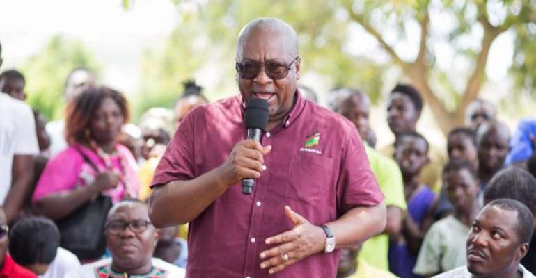 John Mahama has described the series of police invitations to the NDC Chairman as a sign of desperation on the part of the NPP.