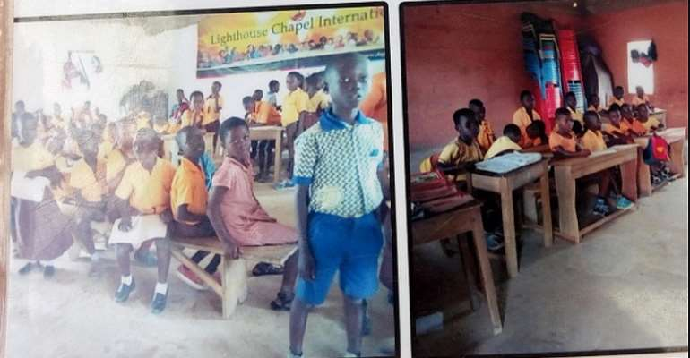 Bosomtwe: Pupils stand or sit on the floor to study over lack of classrooms