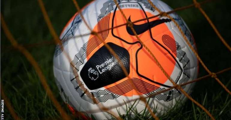 The Premier League hopes to resume action in June
