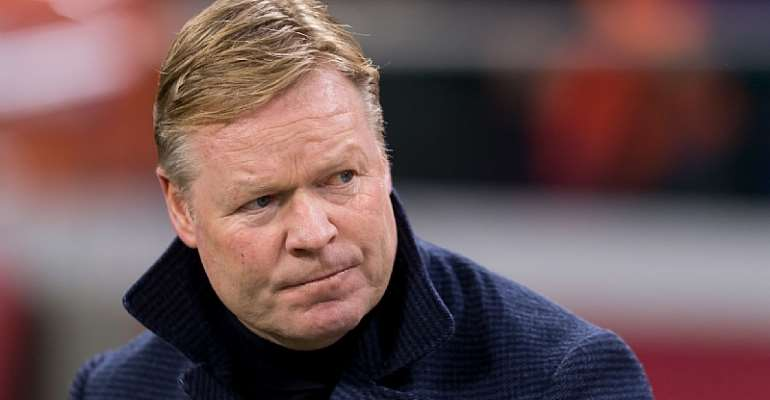 Ronald Koeman was named the Netherlands' boss in 2018