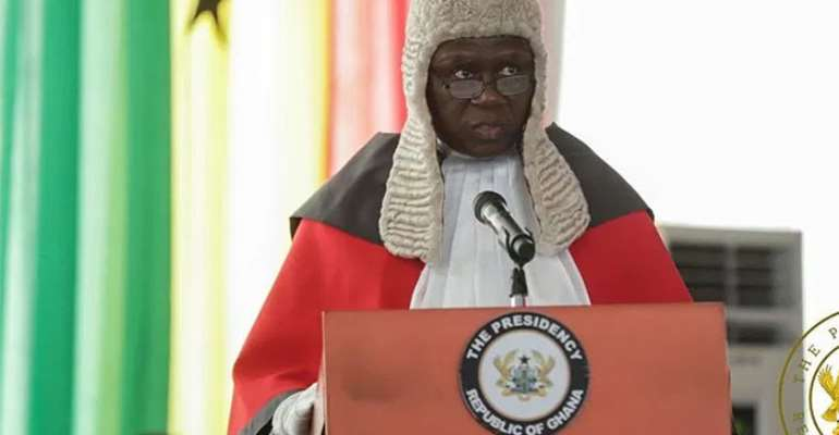 Justice Kwasi Anin-Yeboah, Chief Justice
