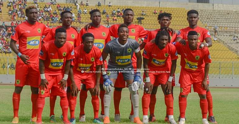Kotoko Technical Staff, Players Agree 30% Pay Cut