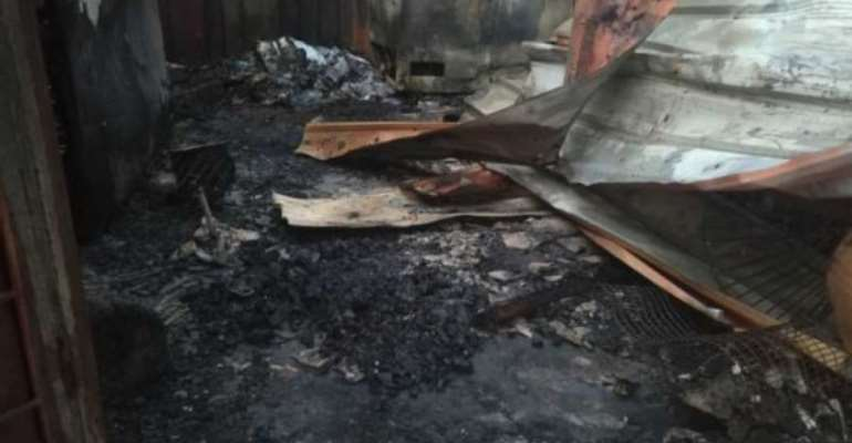 Fire Destroys 58-Year-Old Widow's Cold Store