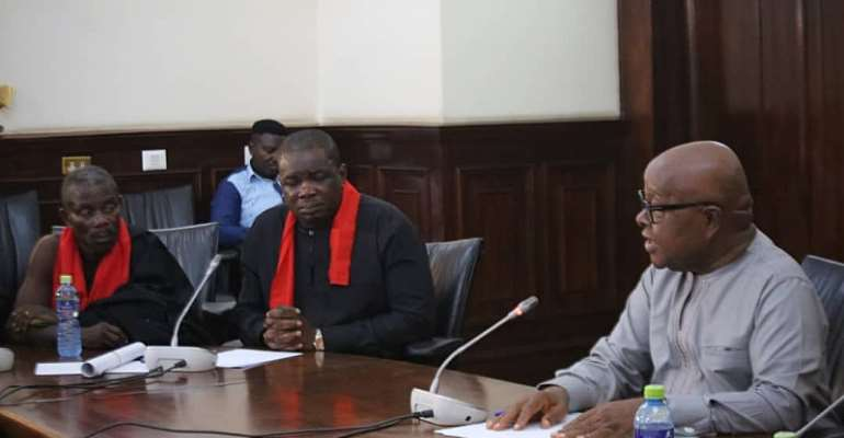 Speaker 'Falls In Love' With Adaklu MP For Being The Most Punctual Lawmaker