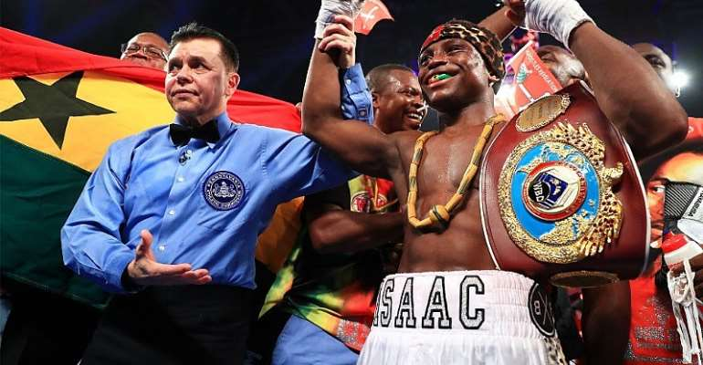 GBA Wishes Dogboe Well Ahead Of Saturday Bout
