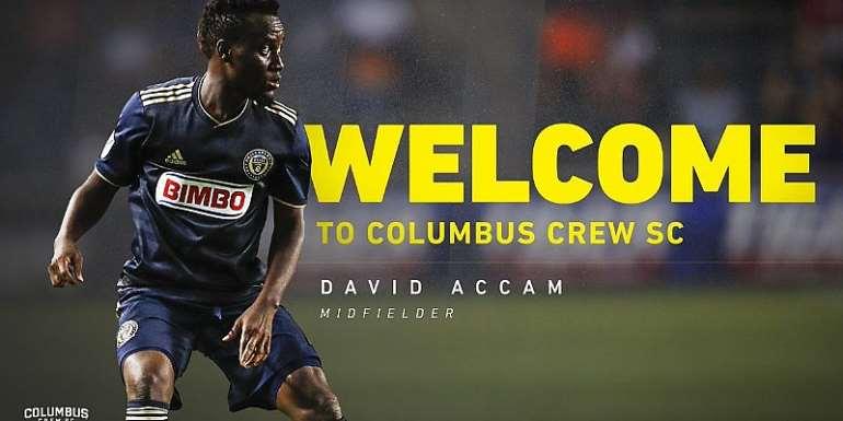 Columbus Crew Confirm Signing Of Ghanaian Forward David Accam
