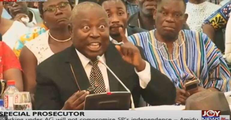 Special Prosecutor, Martin Alamisi Amidu