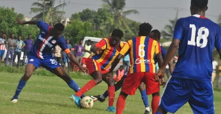 Special Competition: Hearts Fail To Beat 10-Man Liberty As Bechem Frustrate Kotoko