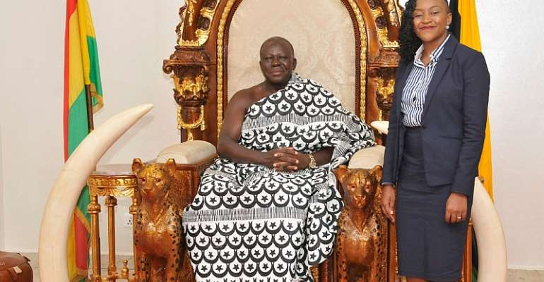 AirtelTigo Wins Asantehene's Heart Following Educational Investments