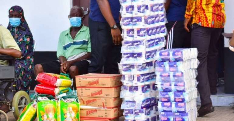 May 9th Football Disaster Victims Receive Support From GB Foods