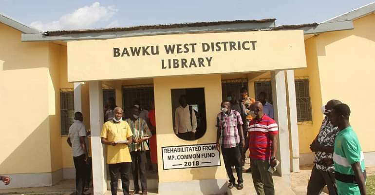 MP Hands Over Two Rehabilitated GES Director's Bungalow, Library