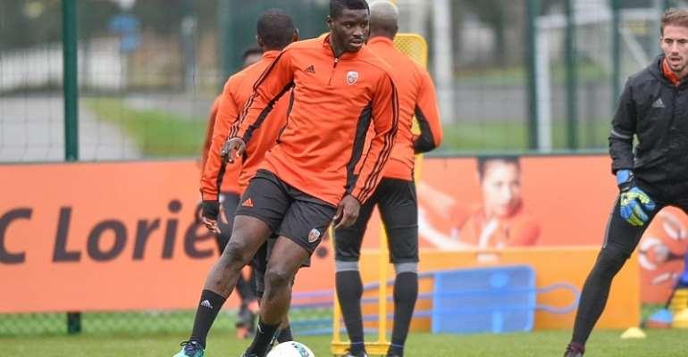 Lorient midfielder Alhassan Wakaso still in pain over clubs relegation