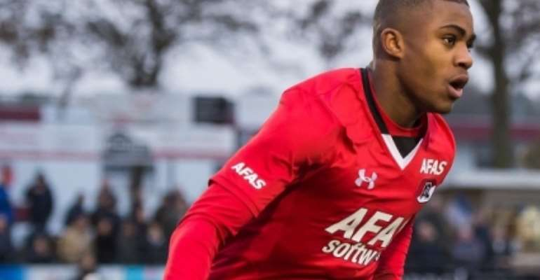 Ghanaian youngster Myron Boadu signs Professional contract with AZ Alkmaar
