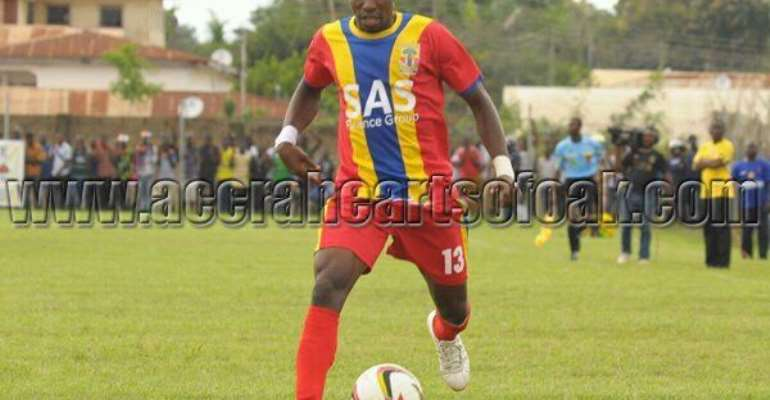 Hearts of Oak skipper Thomas Abbey not giving up on dream of playing for the Black Stars