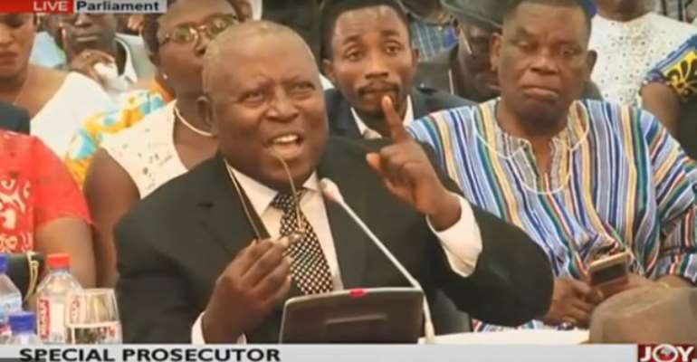 Lawyers for Mahama Ayariga argue that Mr. Martin Amidu was above 65-years as at the time he was nominated and approved as Special Prosecutor.