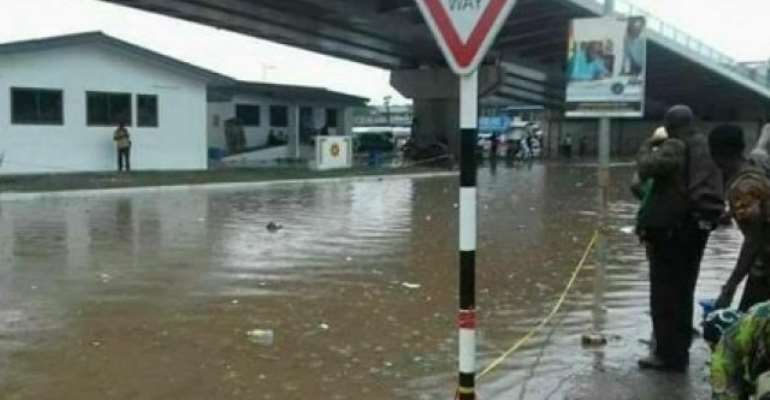 Accra Floods Following Heavy Downpour