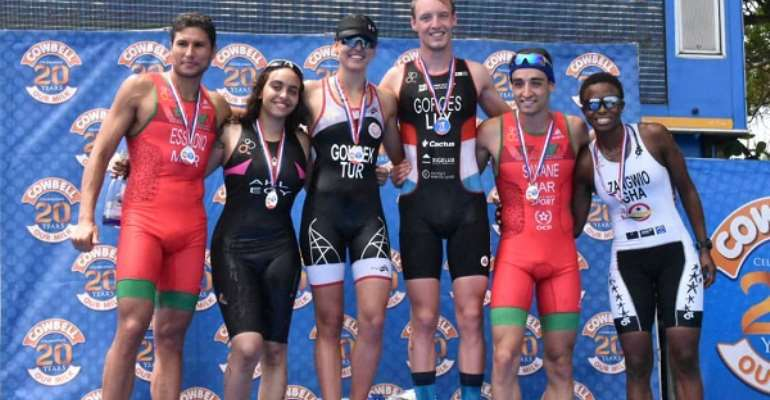 Oliver, Gokeck, Johningeblom Clinches Maiden Edition Of African Triathlon Sprint Cup