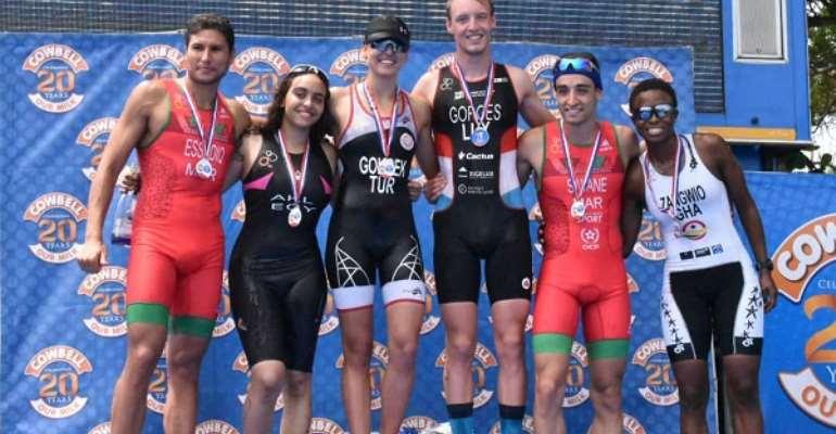 Oliver, Gokeck, Johningeblom Clinches Maiden Edition Of African Triathlon Sprint Cup