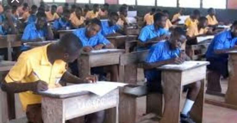 NPP Amenfi Central Youth Organizer Wishes BECE Candidates