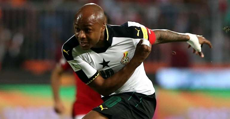 AFCON 2019: I Have Studied A Lot From Former Black Stars Captains - Andre Ayew