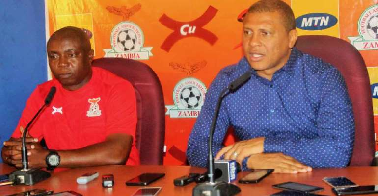 AFCON 2019: Namibia Announces Final 23 Man Squad For AFCON
