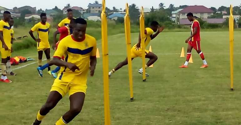 Hearts Resume Training Ahead Of Super Clash With Kotoko on Sunday