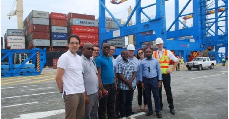 IMF Mission Team Visits Meridian Port Services