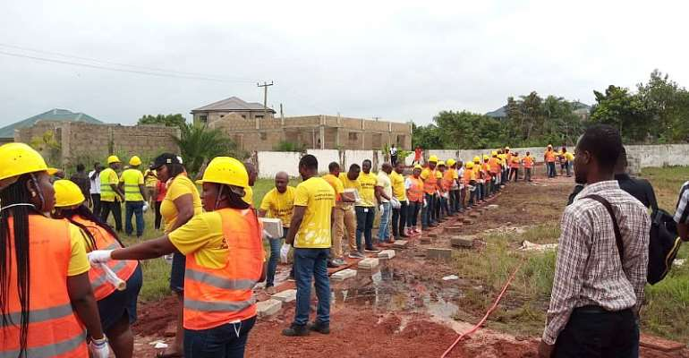 MTN Staff To Build Dormitory For WAG Vocational Training Center