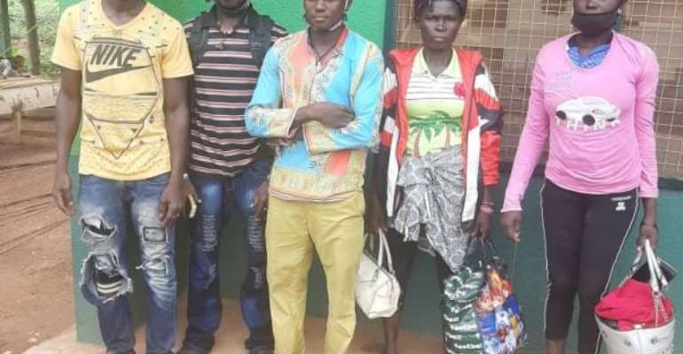 13 Burkinabe Migrants Arrested For Sneaking Into Ghana Despite Border Closure
