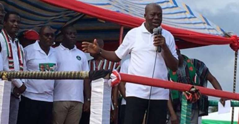 Deliver Your 170 Promises – Amissah-Arthur Tells NPP