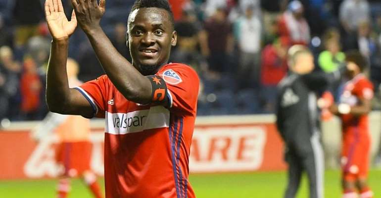 Ghana forward David Accam registers assist in Chicago Fire home win over Atalanta United