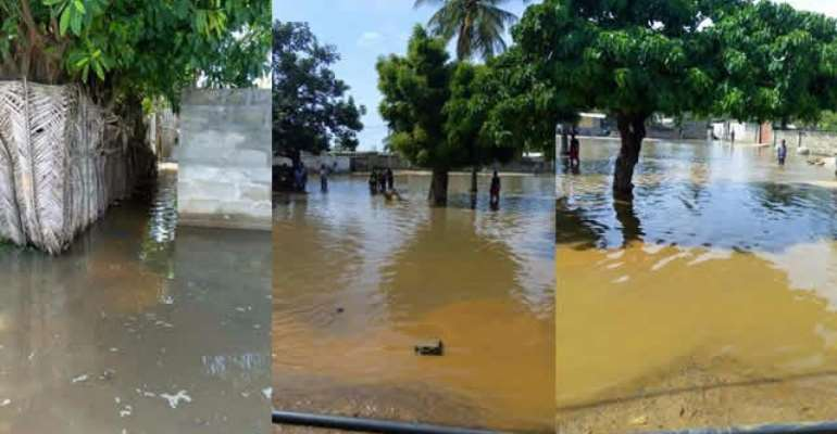 Tidal waves ravage Keta, Ketu communities; dozens displaced