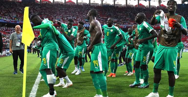 SENEGAL TEAM AT THE 2018 FIFA WORLD CUP IN RUSSIA