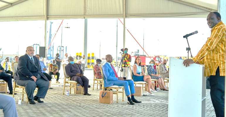 First Phase Of Tema Port Expansion Project Completed