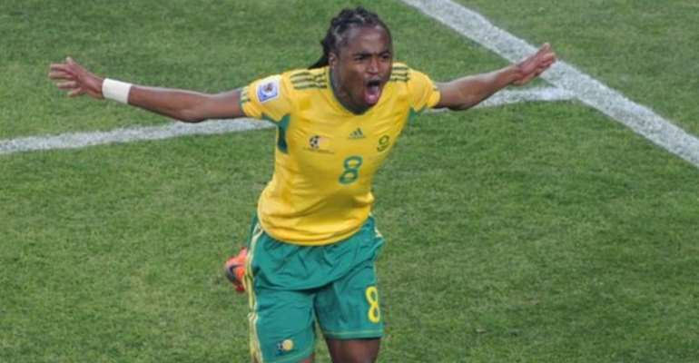 Siphiwe Tshabalala shot to fame when scoring the opening goal at the 2010 World Cup