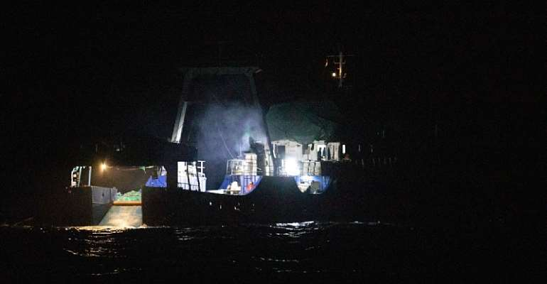 Industrial trawler re-arrested for repeated illegal fishing crimes after refusing to pay fine