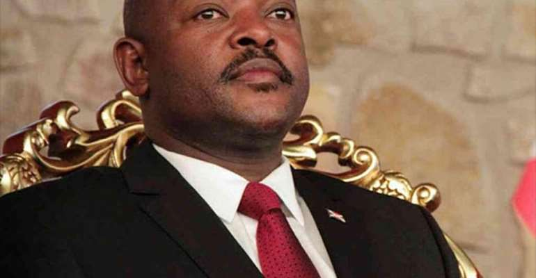 President Pierre Nkurunziza died on Monday 8th June, 2020