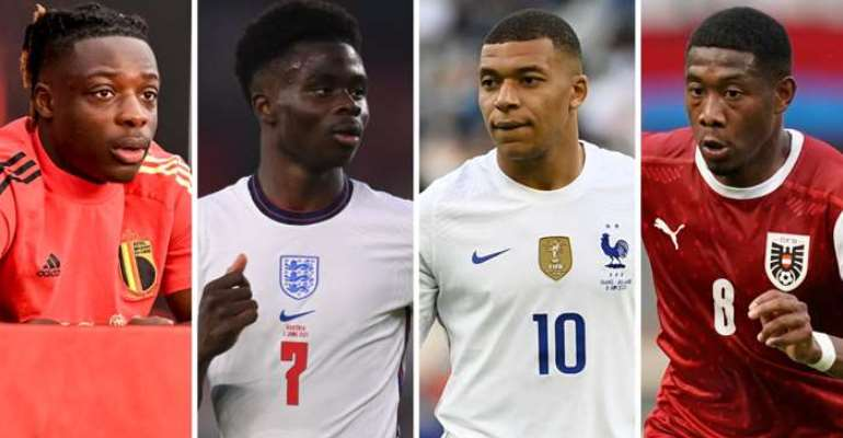 Euro 2020: Which 25 African nations are represented?